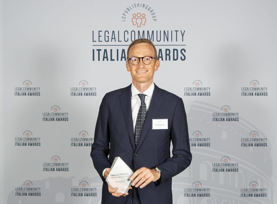 Paolo Stella Monfredini italian awards (1)