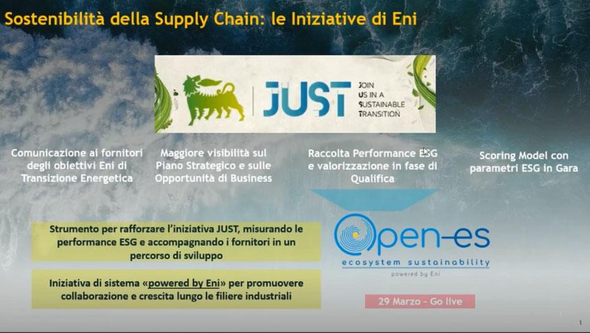 Sostenibilità della Supply Chain: le iniziative di Eni