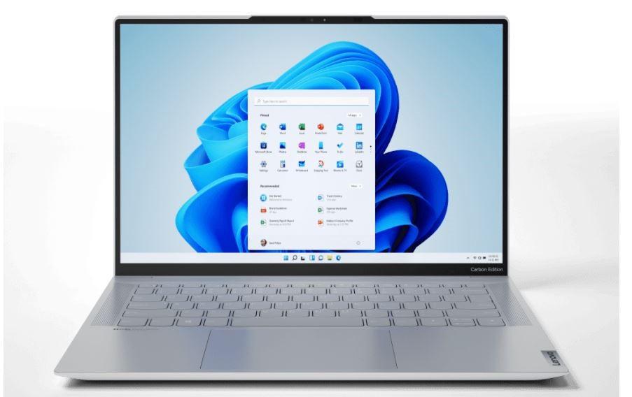 Nuove funzionalità di Windows 11 sui PC Lenovo, come Yoga Slim 7 Carbon