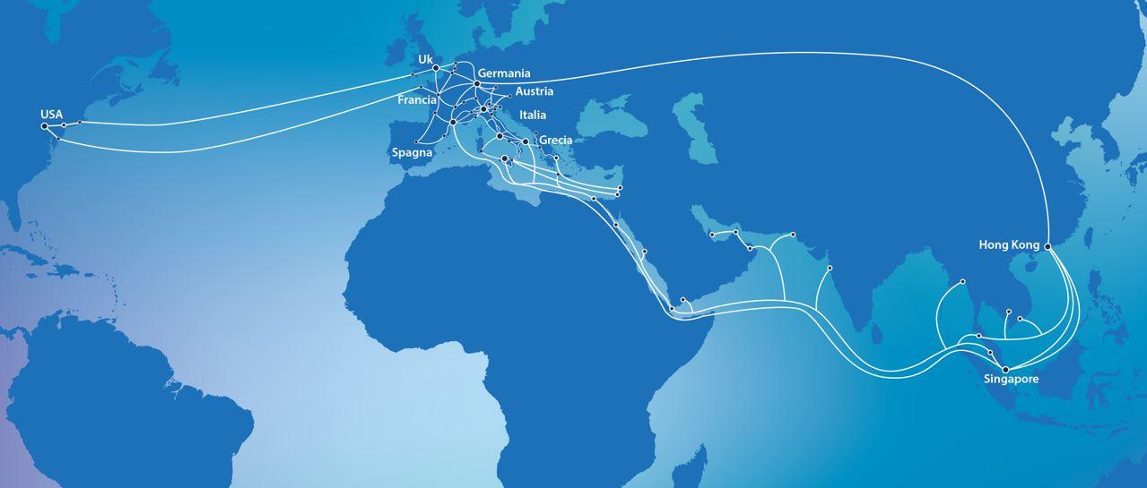Retelit - international network
