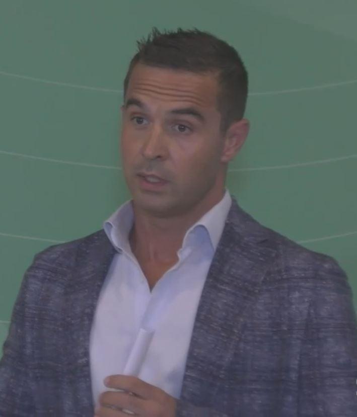 Tomas Marchiani, titolare dell'azienda Marchiani