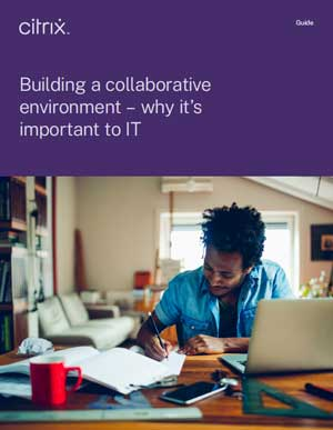 Building a collaborative environment – why it