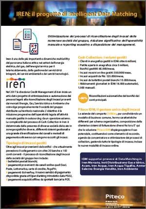 IREN: il progetto di Intelligent Data Matching