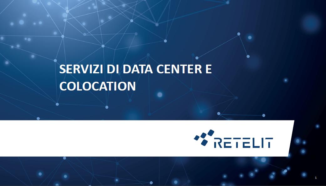 Retelit - Servizi di data center e colocation