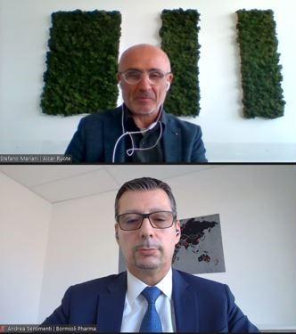 Stefano Mariani,IT Manager diAlcar Ruote,Andrea Sentimenti, marketing & innovation director diBormioli Pharma