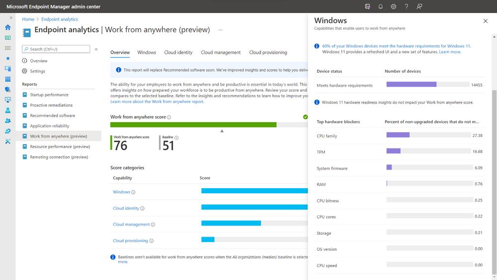 Microsoft Endpoint Manager - Come capire se i pc in azienda sono pronti per Windows 11
