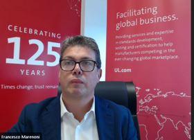 Francesco Marenoni, sales director, consumer medical and information technology division di UL